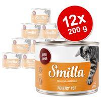 Korzystny pakiet Smilla Puszki z drobiem, 12 x 200 g