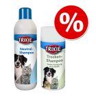 Korzystny pakiet Szampon Trixie Neutral + Suchy szampon dla psów Trixie