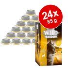 Korzystny pakiet Wild Freedom Adult, tacki, 24 x 85 g
