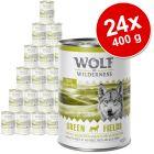 Korzystny pakiet Wolf of Wilderness Adult, 24 x 400 g
