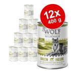 Korzystny pakiet Wolf of Wilderness Senior, 12 x 400 g