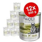 Korzystny pakiet Wolf of Wilderness Senior, 12 x 800 g