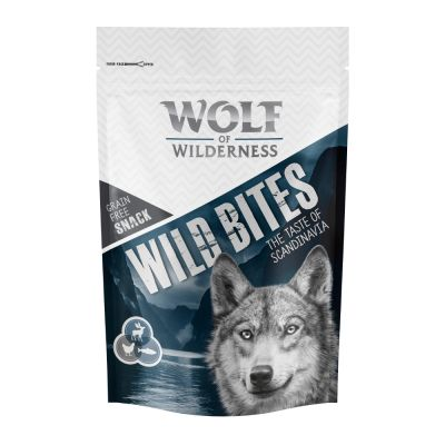 "Korzystny pakiet Wolf of Wilderness Snack – Wild Bites ""The Taste of"", 3 x 180 g"