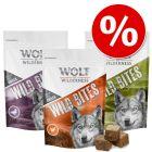 Korzystny pakiet Wolf of Wilderness Snack – Wild Bites, 3 x 180 g