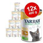 Korzystny pakiet Yarrah Bio Pâté, 12 x 400 g
