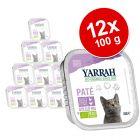 Korzystny pakiet Yarrah Bio Pâté, 12 x 100 g
