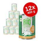 Korzystny pakiet Zooplus Bio Senior, 12 x 400 g