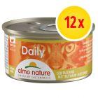 Korzystny zestaw Almo Nature Daily Menu, 12 x 85 g