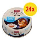 Korzystny zestaw Animonda Carny Ocean, 24 x 80 g