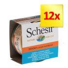 Korzystny zestaw Schesir Natural w sosie, 12 x 70 g