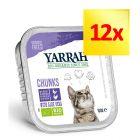Korzystny zestaw Yarrah Bio kawałeczki w sosie, 12 x 100 g