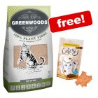 30l Greenwoods Natural Clumping Litter + Catessy Snacks Free!*