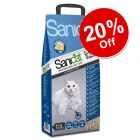 10l Sanicat Clumping Cat Litter - 20% Off!*