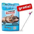 25 l Benek Super żwirek dla kota + Wędka dla kota gratis!
