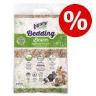 35 l Bunny Bed O' Linum přírodní lněná podestýlka za skvělou cenu!
