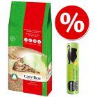 40 l Cat's Best Original + 26 g Cosma Snackies s piščancem po posebni ceni!
