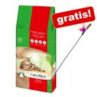 40 l Cat's Best Original Katzenstreu + Federwedel gratis!