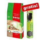 40 l Cat's Best Original Katzenstreu + 26 g Cosma Snackies mit Huhn gratis!