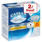 8l Catsan Clumping Cat Litter - 6l + 2l Free!*