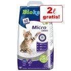 12 l + 2 l gratis! 14 l Lettiera Biokat's Micro