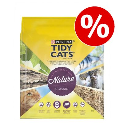 10 l Purina Tidy Cats -kissanhiekkaa erikoishintaan!