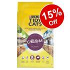 30L Purina Tidy Cats Nature Classic Cat Litter - 15% Off!*