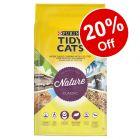 30L Purina Tidy Cats Nature Classic Litter - 20% Off!*