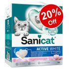 6l Sanicat Clumping Cat Litter - 20% Off!*