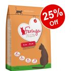 Large Bags Feringa Dry Cat Food - 25% Off!*