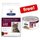 Large Bags Hill's Prescription Diet Dry Cat Food + 4 x 82g Stew Free!*