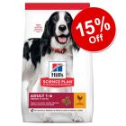 Large Bags Hill's Science Plan Dry Dog Food - 15% Off!*
