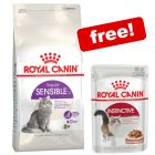 Large Bags Royal Canin Feline Dry Cat Food + 12 x 85g Wet Food Free!*