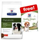 Large Bag Hill's Prescription Diet Dry Dog Food + 2 Treats Free!*