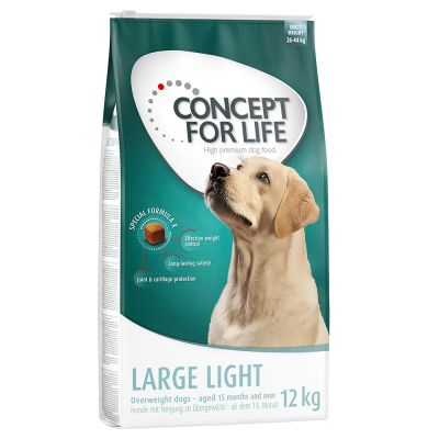 Large Bags Concept for Life Dry Dog Food - €5 Off!*