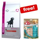 Large Bags Eukanuba Dry Dog Food + 8in1 Delights Pro Dental Sticks Free!*
