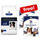 Large Bags Hill's Prescription Diet Dry Dog Food + 2 x Hill's Treats Free!*