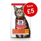 Large Bags Hill's Science Plan Dry Cat Food - £5 Off!*