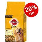Large Bags Pedigree Dry Dog Food - 20% Off!*
