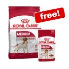 Large Bags Royal Canin Size Dry Food + Royal Canin Wet Food Free!*