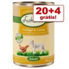 Latas Lukullus comida húmida 24 x 400 g em promoção: 20 + 4 latas grátis!