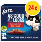 """Latz """"As good as it looks"""" Adult Pouch 24 x 85 g"""