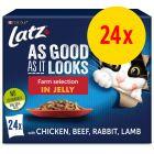 """Latz """"As good as it looks"""" Pouches 24 x 85 g"""