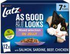 """Latz """"As good as it looks"""" Senior Pouches 48 x 100 g"""