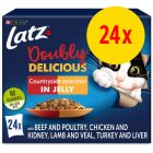 """Latz """"Doubly Delicious - as good as it looks"""" Pouches 24 x 85 g"""