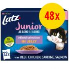 """Latz """"Så lækkert som det ser ud"""" Junior portionsposer 48 x 85 g"""