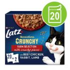 "Latz ""Sensations Crunchy"" Pouches 20 x 85 g + 80 g topping"
