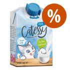 Leche para gatos Catessy ¡con descuento!
