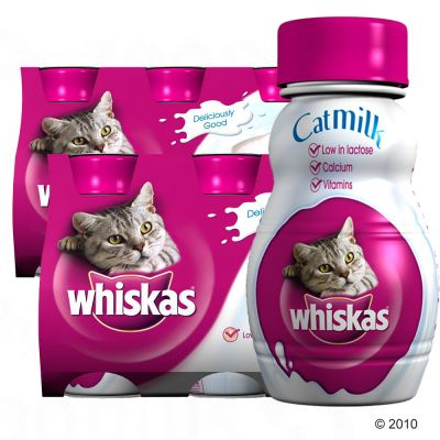 Leche para gatos Whiskas Milk 200 ml