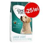25 lei reducere! 12 kg Concept for Life Light hrană uscată