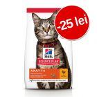 25 lei reducere! 7 sau 10 kg Hill's Science Plan hrană pisici